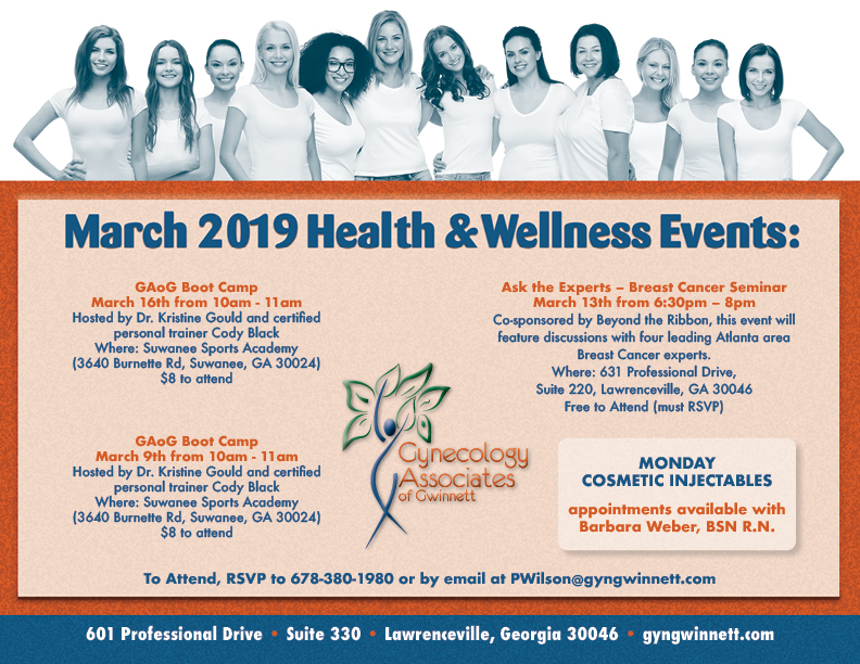 GAoG March 2019 Events Flyer WEB